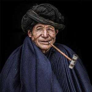 PhotoVivo Gold Medal - Shanming Lin (China) <br /> An Old Man With A Pipe