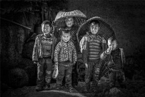 PhotoVivo Silver Medal - Peiwang Huang (China) <br /> Children In The Mountains